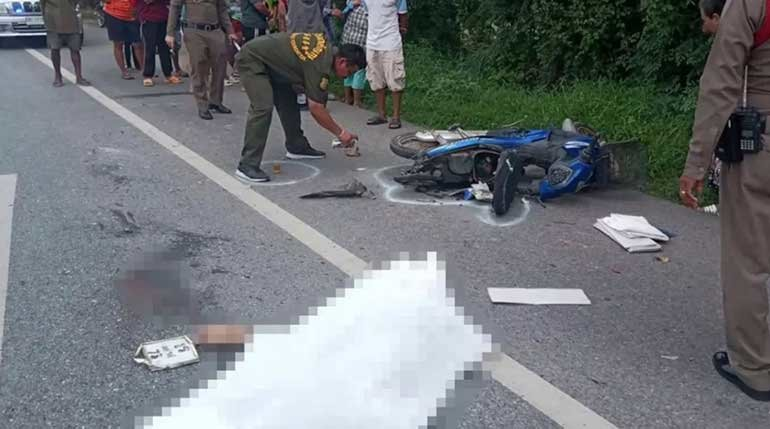 """""""Grisly"""" death of a teen on a motorcycle on her way to a funeral 