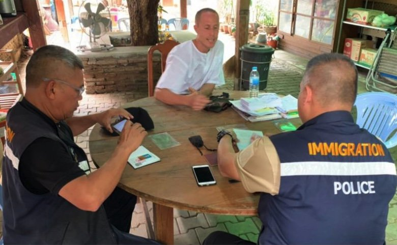 Outed sex monk gets a visit from immigration about reporting his address | Samui Times