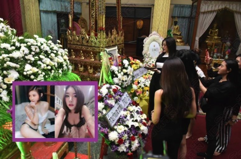"Friends hold birthday party at funeral of ""pretty"" who died mysteriously 