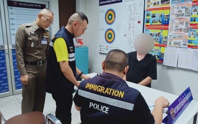 """Oops! Canadian from """"VANCOVER"""" arrested using fake passport   Samui Times"""