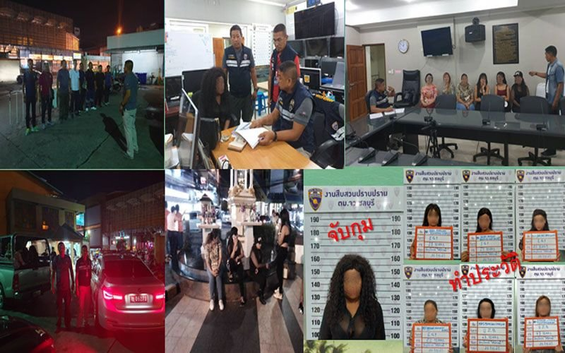 Pattaya: Prostitution finally found – foreign sex workers arrested | Samui Times