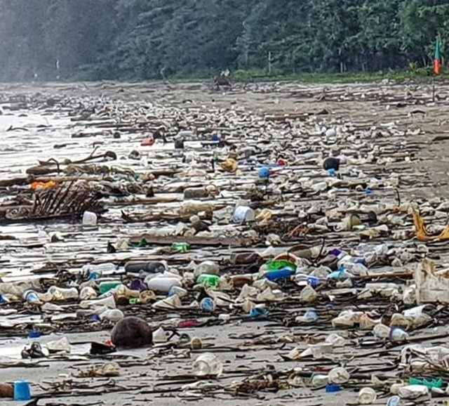 """""""Act now before it's too late"""" – uni environmentalist posts disgraceful picture of Thai beach 