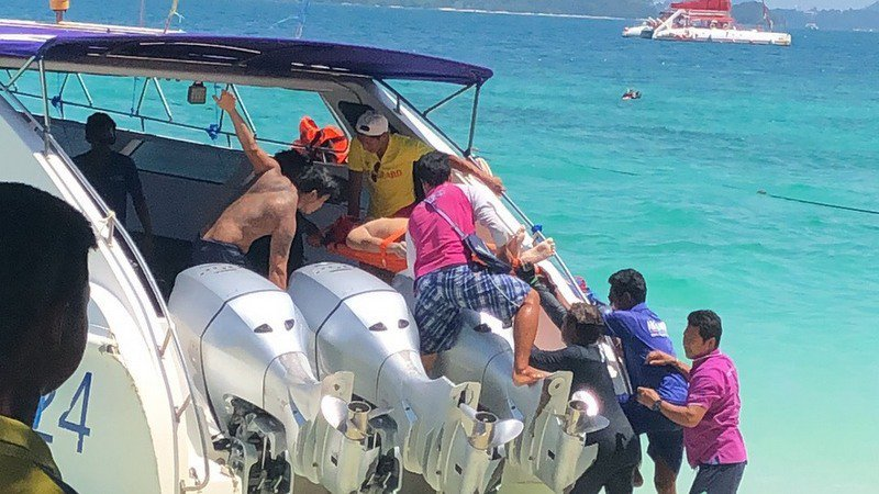 Singaporean tourist rescued from drowning on Coral Island day trip   Samui Times