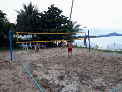 New Samui Beach Volleyball Venue Opens! | Samui Times