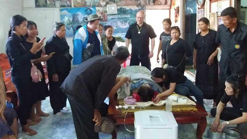 """North-east Thailand: Grannie """"comes back to life"""" as family prepare to cremate her   Samui Times"""