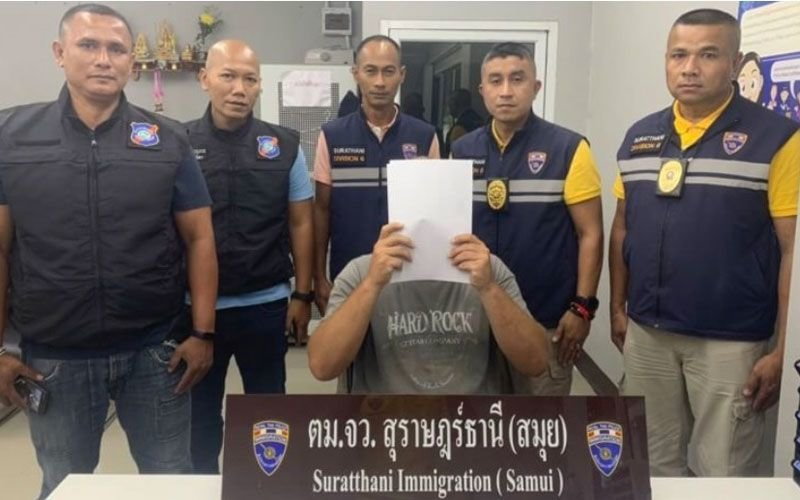 Surat Thani: Immigration round up illegal foreigners throughout the province | Samui Times
