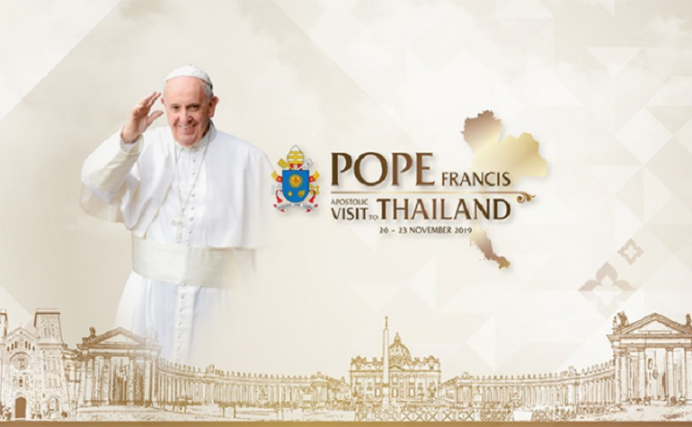 Pope's visit includes meetings with King, PM | Samui Times