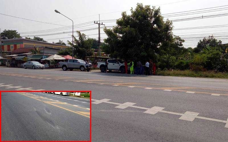 Confusing road markings contributed to fatal accident involving abbot | Samui Times