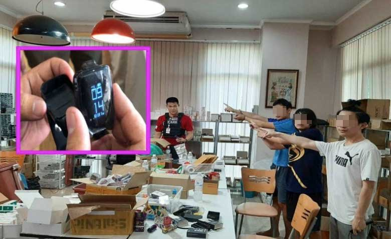 """""""A smart watch that vapes"""" – three traders arrested for selling e-cigarettes 