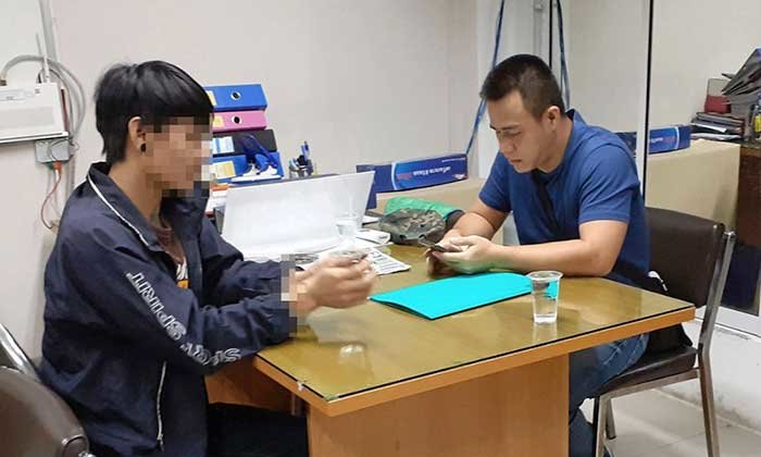 Hua Hin: Fleeing murderer arrested on train after he stabbed work colleague near Bangkok | Samui Times