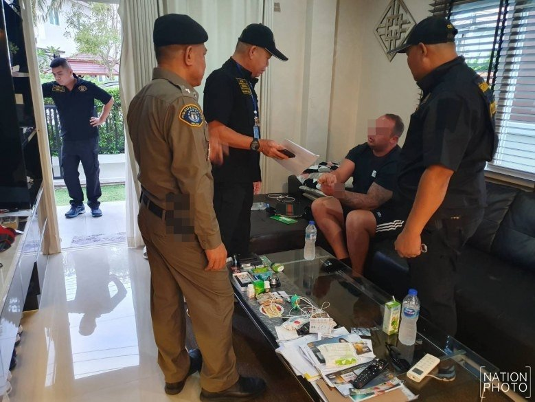 Brit held on drugs charges in Pattaya says ex-wife set him up | Samui Times