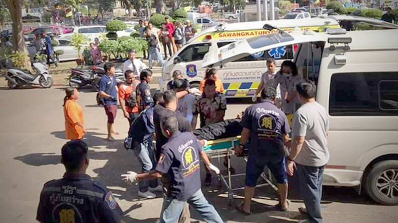 Two dead in courtroom shooting | Samui Times