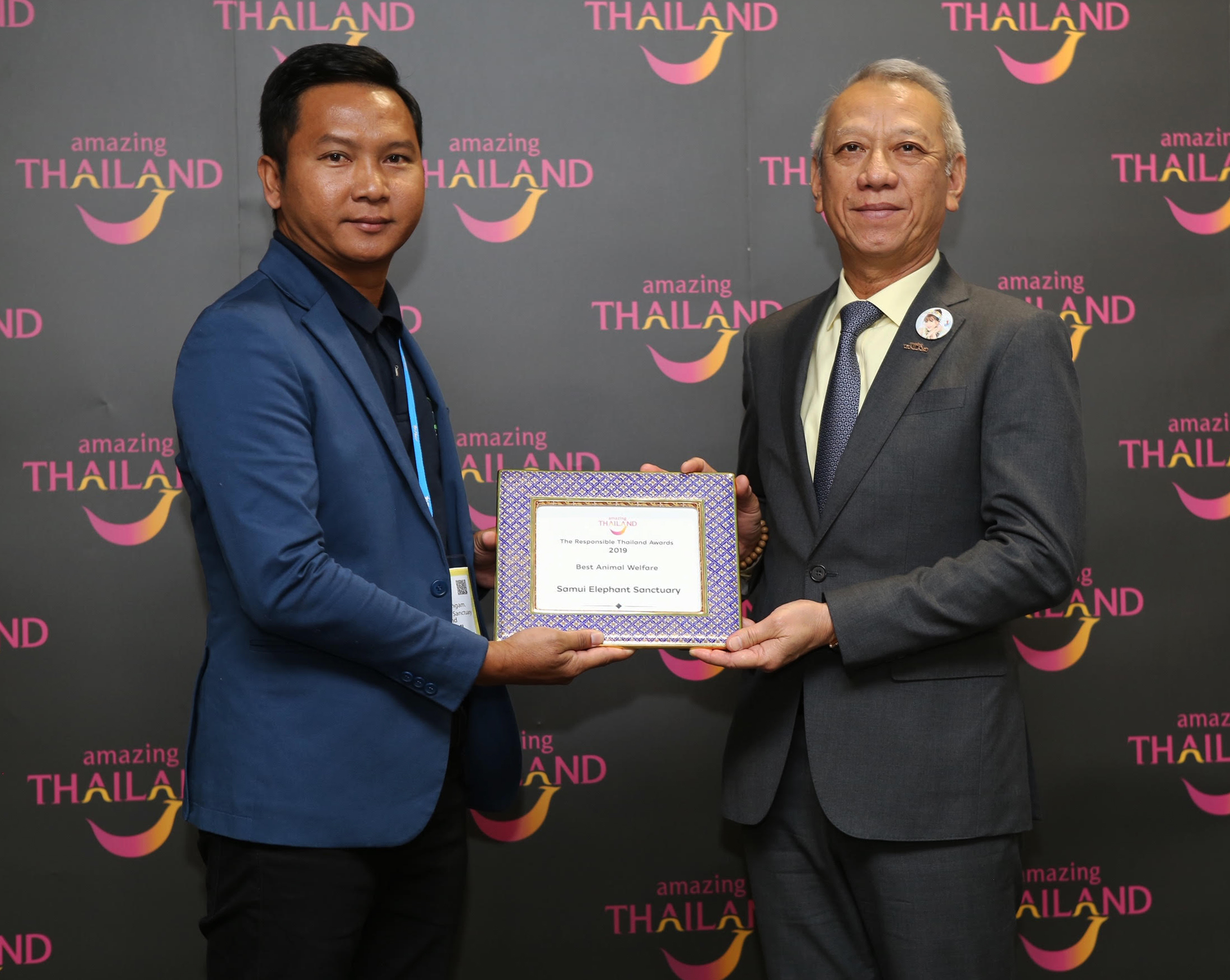 Samui Elephant Sanctuary wins 'Responsible Thailand' award 2019 | Samui Times