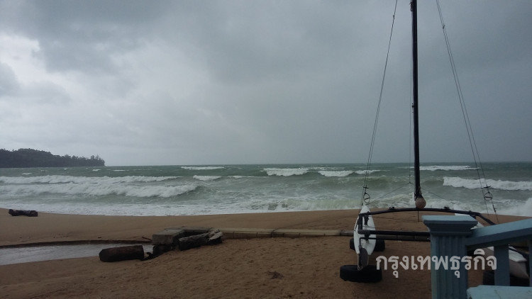 Heavy rain, strong winds and high waves forecast for the South   Samui Times