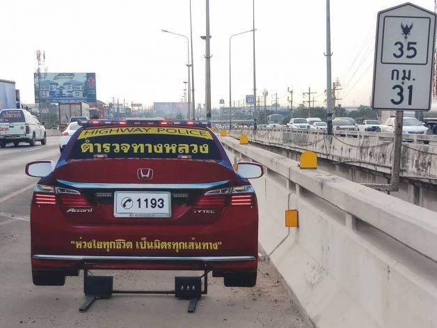 Thai police unveil the answer to the New Year carnage: The Dummy Car | Samui Times