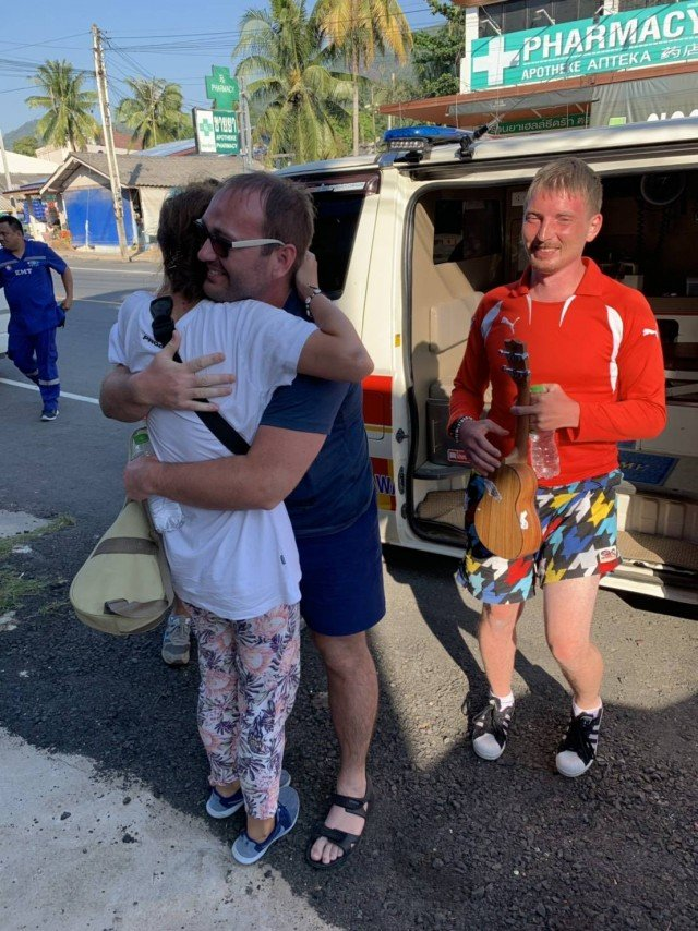 Missing Russian tourists rescued in Koh Chang | News by Samui Times