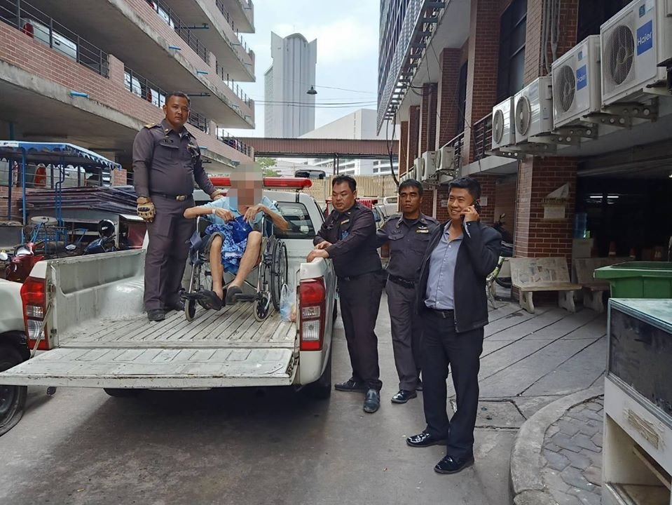 """Pitiful old man at the police station will be """"repatriated to Britain"""" 