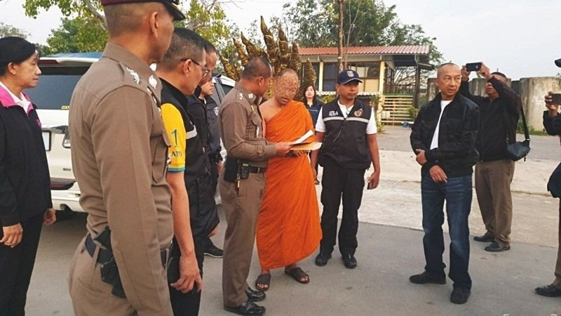 Abbot arrested for alleged molestation of child novices | Samui Times