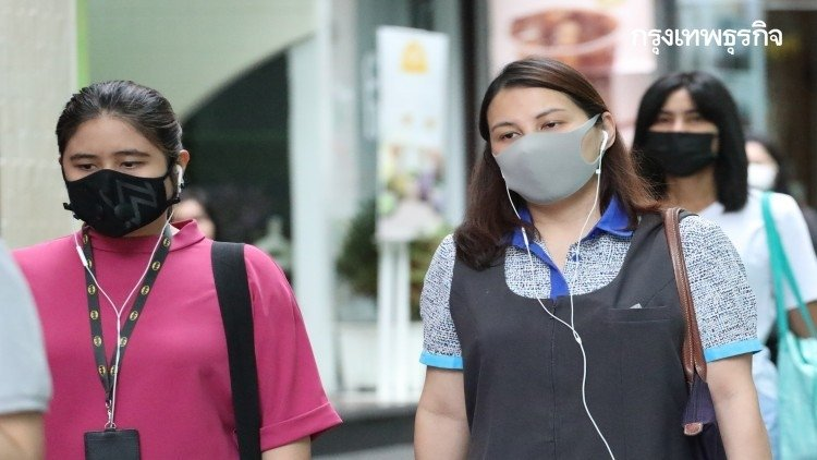 Samut Sakhon sprays water to control PM2.5 airborne dust | News by Samui Times