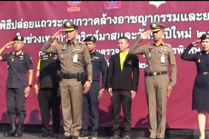 BKK Police conduct crime sweeping operation ahead NY celebration | Samui Times