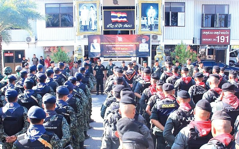 "New Year Ready Steady GO! Police mobilized, Ministry's 3 pronged plan and the DLT ""report line"" 