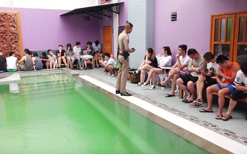Koh Samui: 54 Chinese nationals arrested working in a call center at a hotel   Samui Times