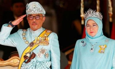 King and Queen of Malaysia under quarantine | Samui Times