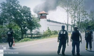 Covid-19 Virus causing fires and riots in Thai prison | Samui Times