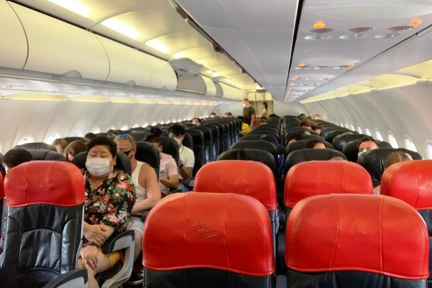Domestic Airlines Done With Social Distancing | Samui Times