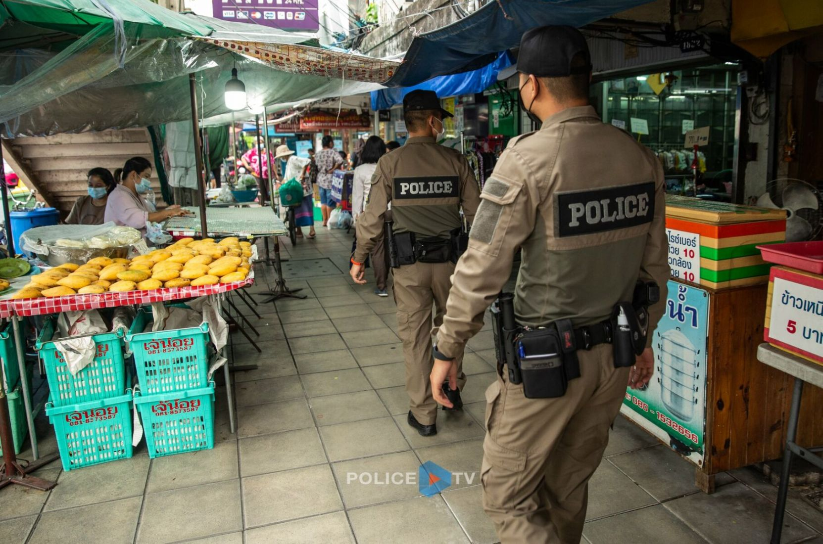 From BIB to Boys in 2-tone khaki - Thailand's new police uniform on trial | News by Thaiger