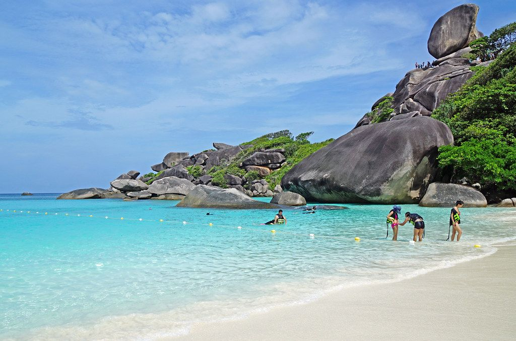 Similan Islands | The Similan Islands are in the Andaman Sea… | Flickr