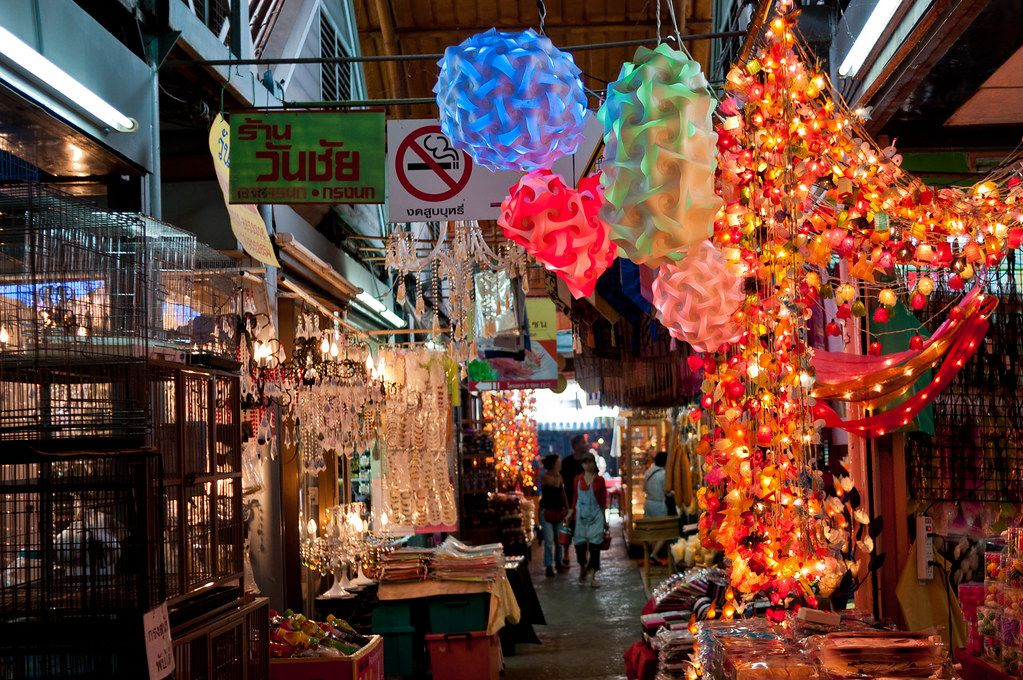 Chatuchak Market | A very small part of the huge Chatuchak W… | Flickr
