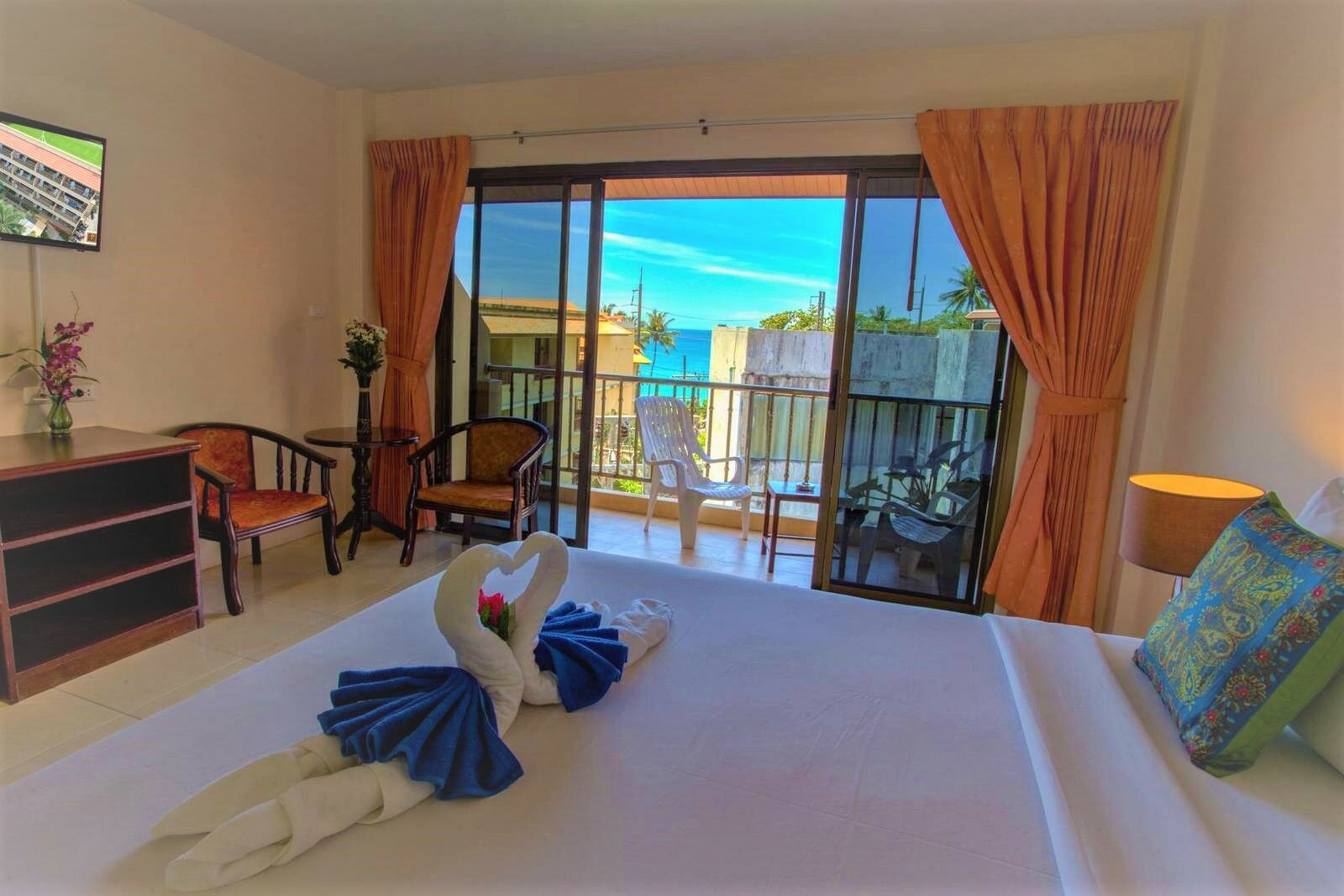 Seven Seas Hotel. One of the best budget hotels in Phuket