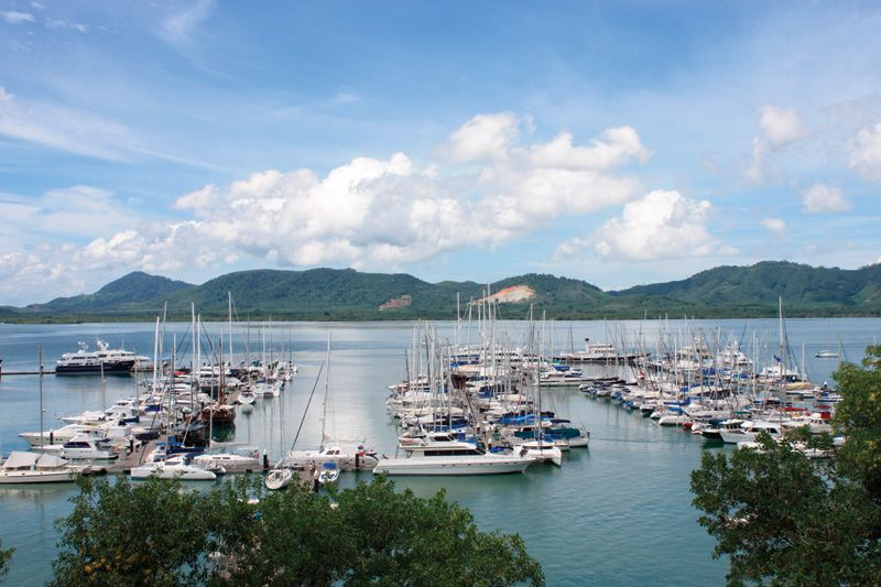 Yacht Haven: Great stopover on a yacht charter in Phuket